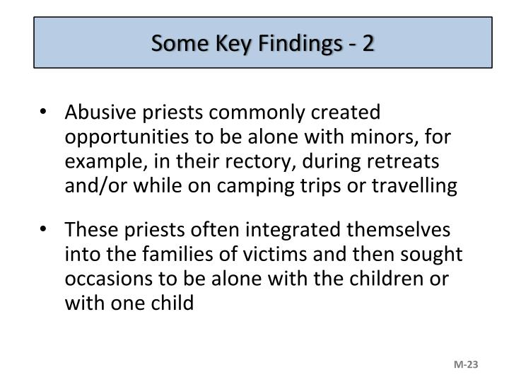 Some Key Findings - 2