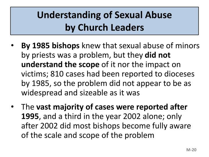 Understanding of Sexual Abuse