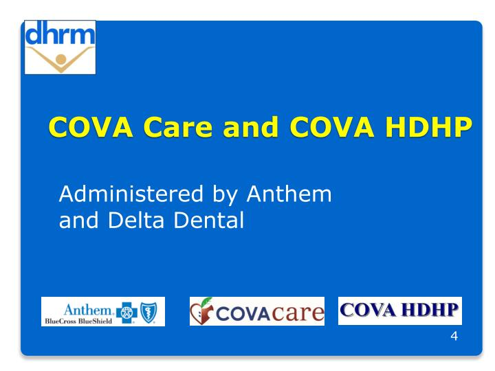 COVA Care and COVA HDHP