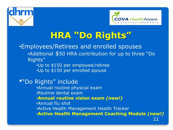 "HRA ""Do Rights"""