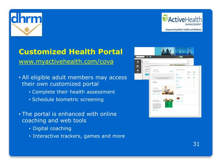 Customized Health Portal
