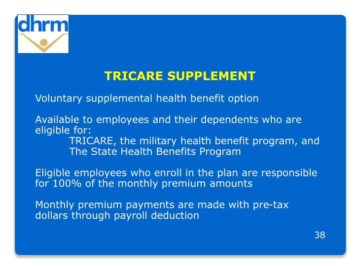 TRICARE SUPPLEMENT