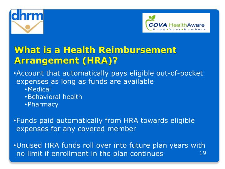 What is a Health Reimbursement Arrangement (HRA)?