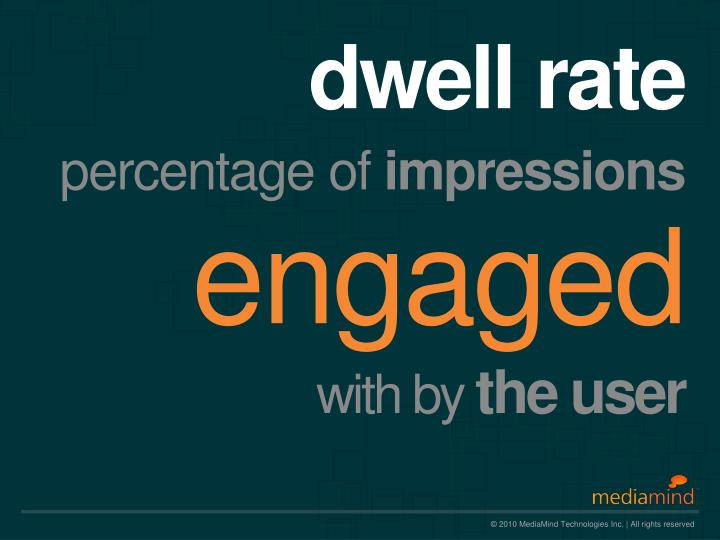dwell rate