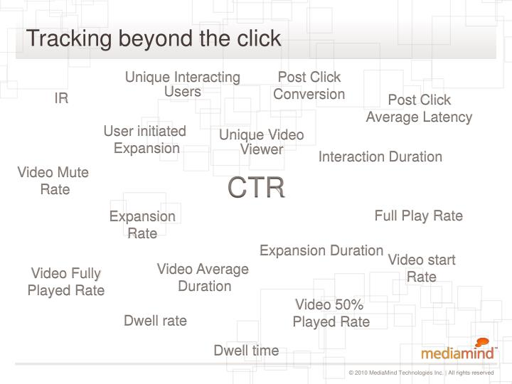 Tracking beyond the click