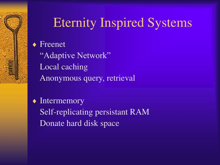 Eternity Inspired Systems