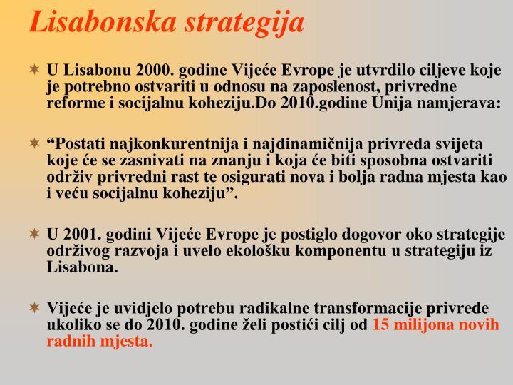 Lisabonska strategija