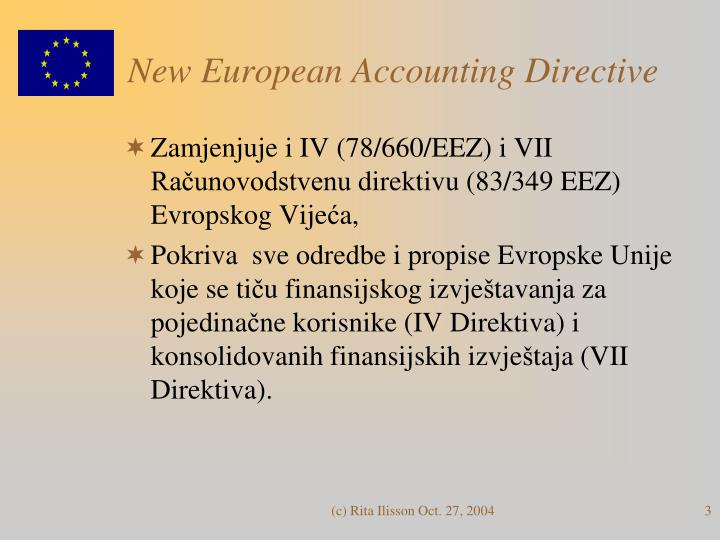 New european accounting directive1