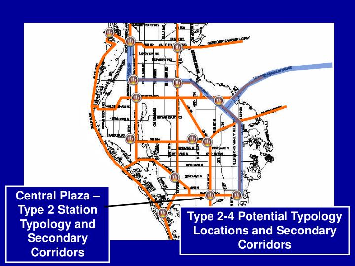 Central Plaza – Type 2 Station Typology and Secondary Corridors