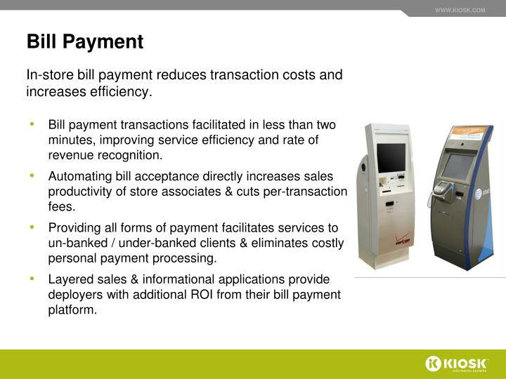 Bill Payment