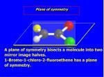 plane of symmetry1
