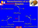 stereochemistry of an s n 1 reaction