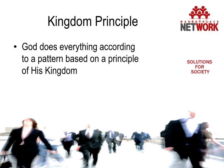Kingdom Principle