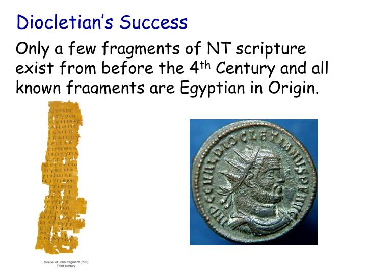 Diocletian's Success