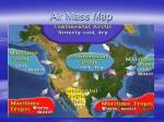 air mass map