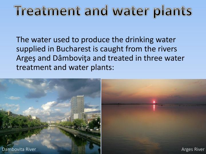 Treatment and water plants