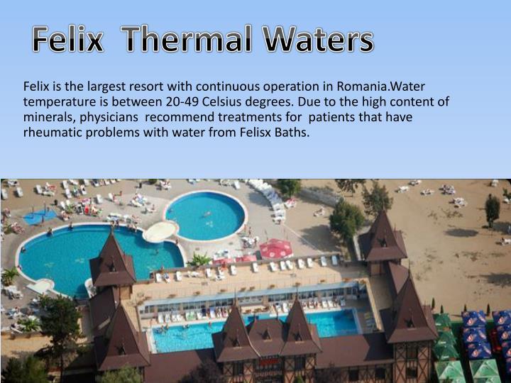 Felix  Thermal Waters