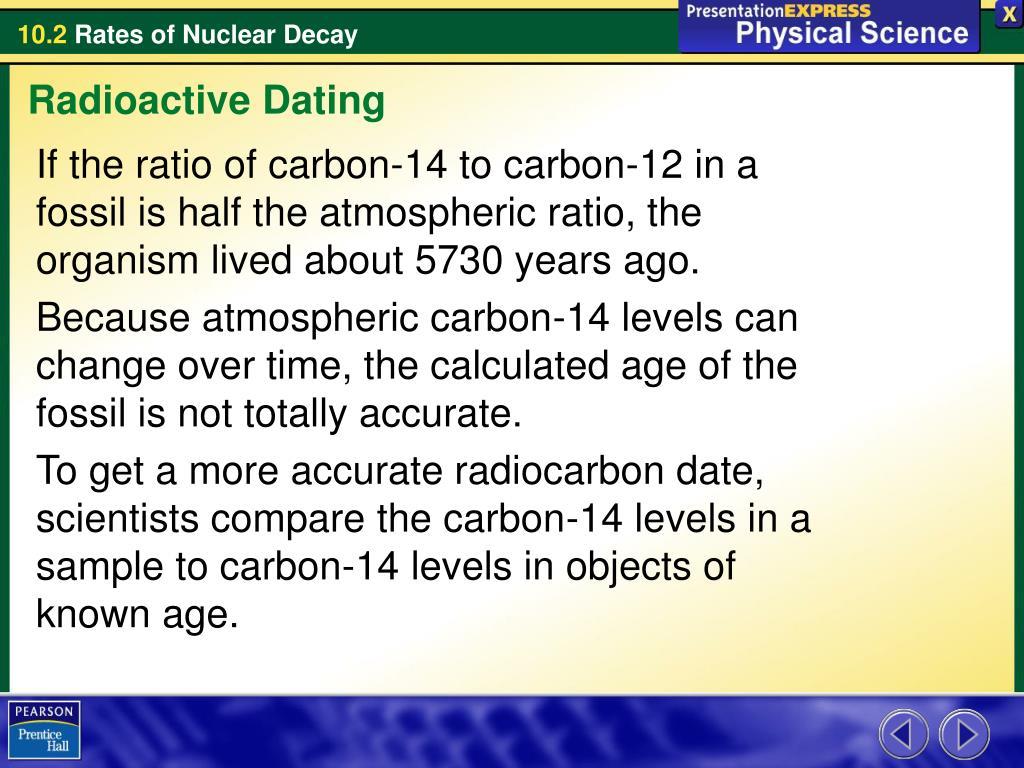 radioaktive dating ratio