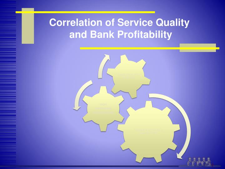 Correlation of Service Quality