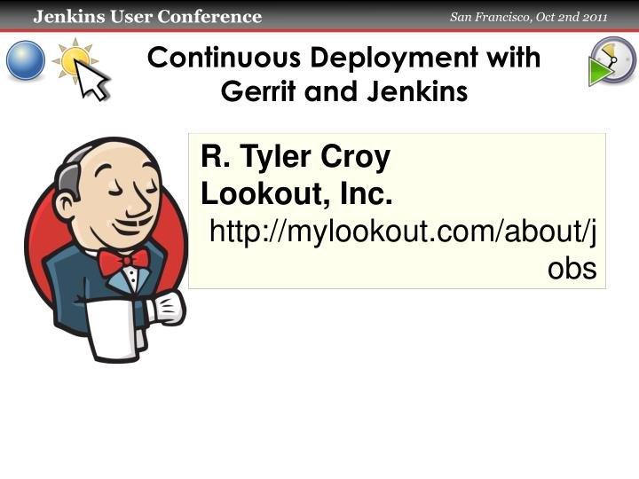 continuous deployment with gerrit and jenkins n.
