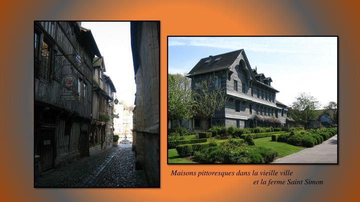 Maisons pittoresques dans la vieille ville