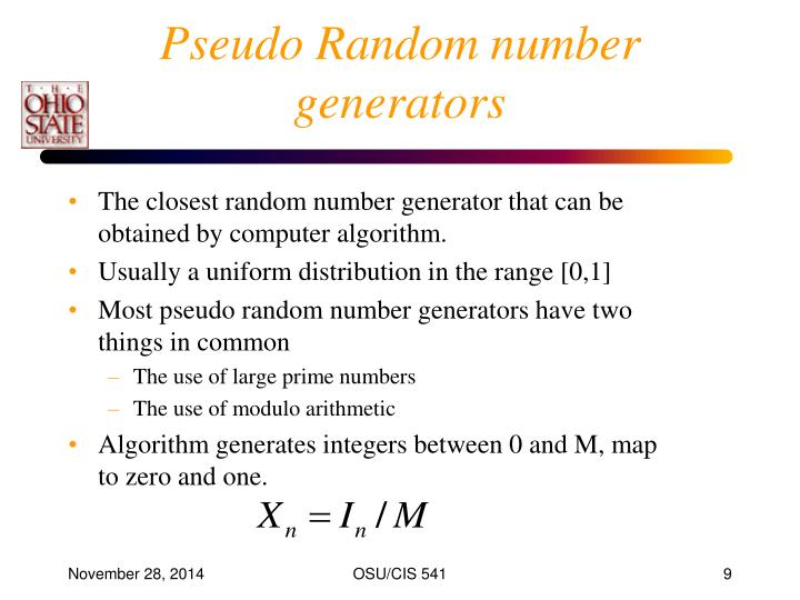 random number generator most common numbers