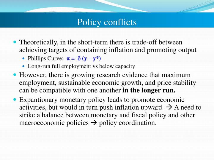 Policy conflicts