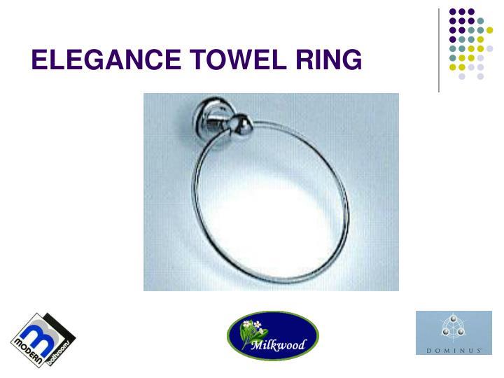ELEGANCE TOWEL RING