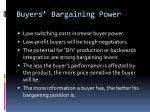 buyers bargaining power1