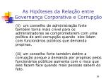 as hip teses da rela o entre governan a corporativa e corrup o4