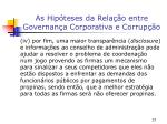 as hip teses da rela o entre governan a corporativa e corrup o5