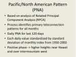 pacific north american pattern pna