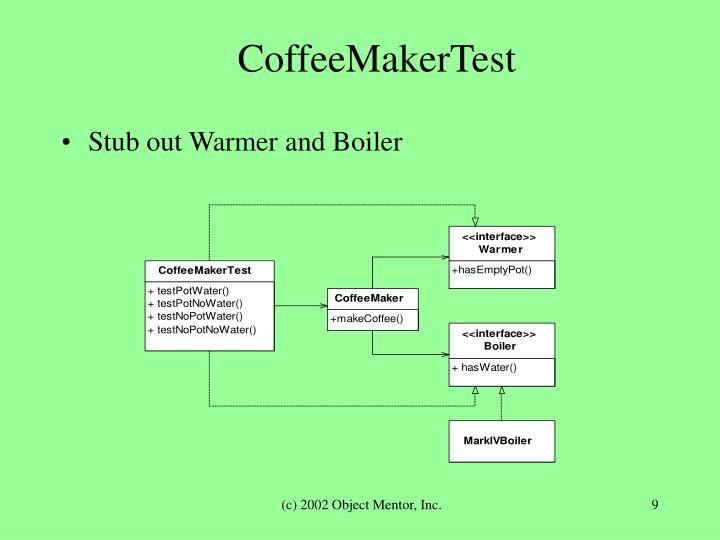 CoffeeMakerTest