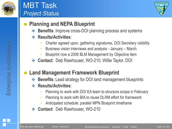 MBT Task