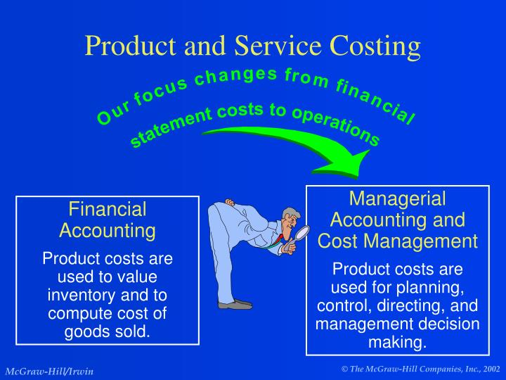 product and service costing n.