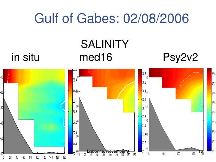 Gulf of Gabes: 02/08/2006