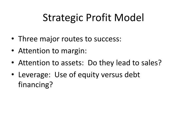 Strategic Profit Model