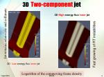 3d two component jet