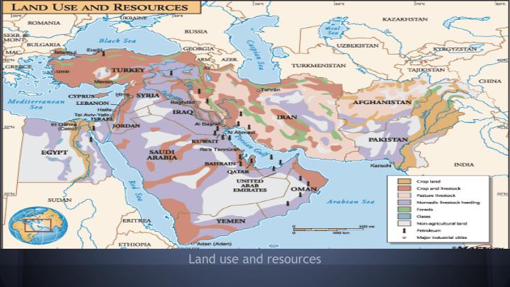 Land use and resources