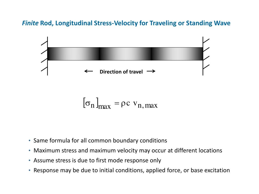PPT - Unit 29 The Stress-Velocity Relationship for Shock