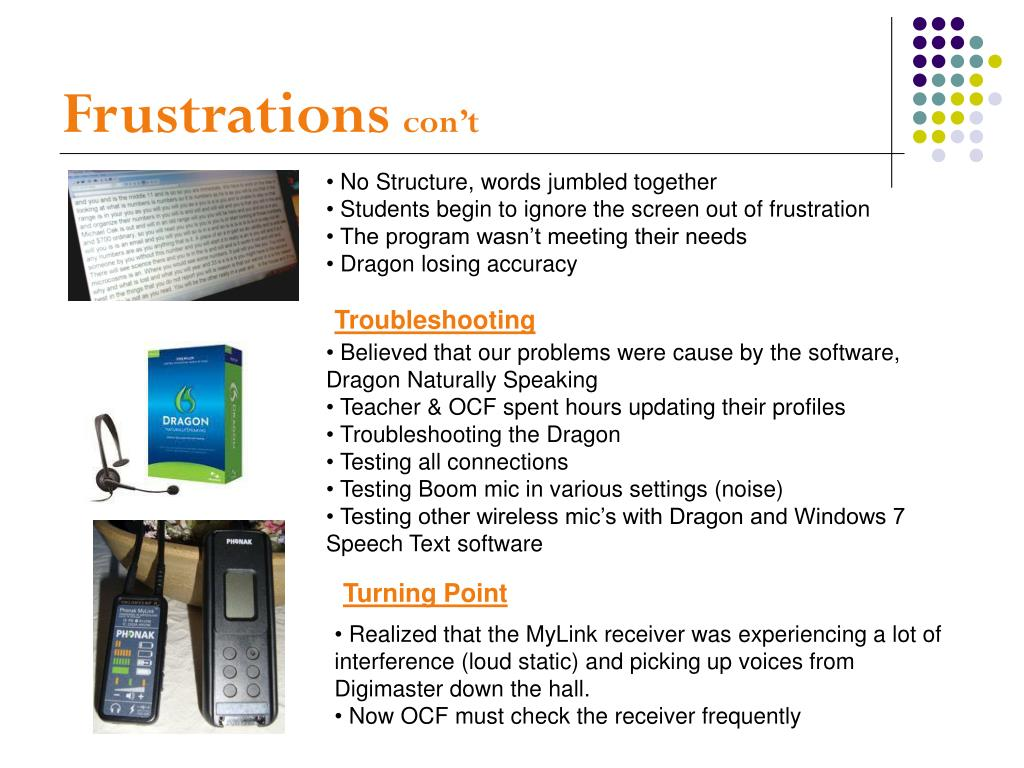 PPT - Live Captioning with Dragon PowerPoint Presentation