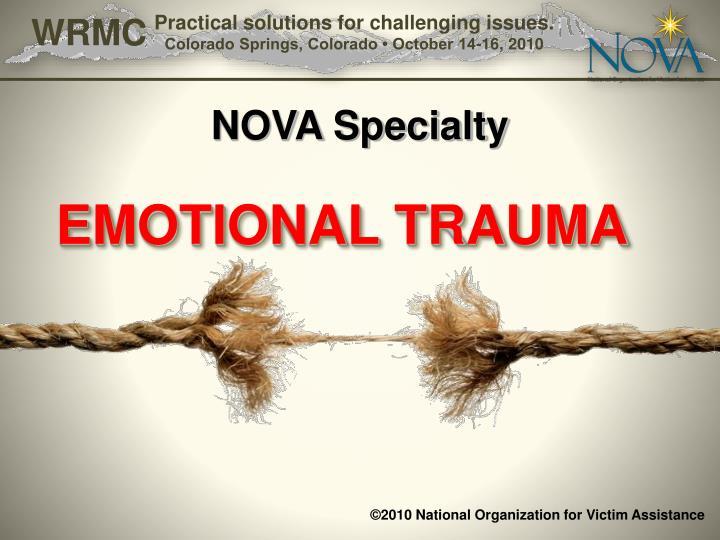 NOVA Specialty