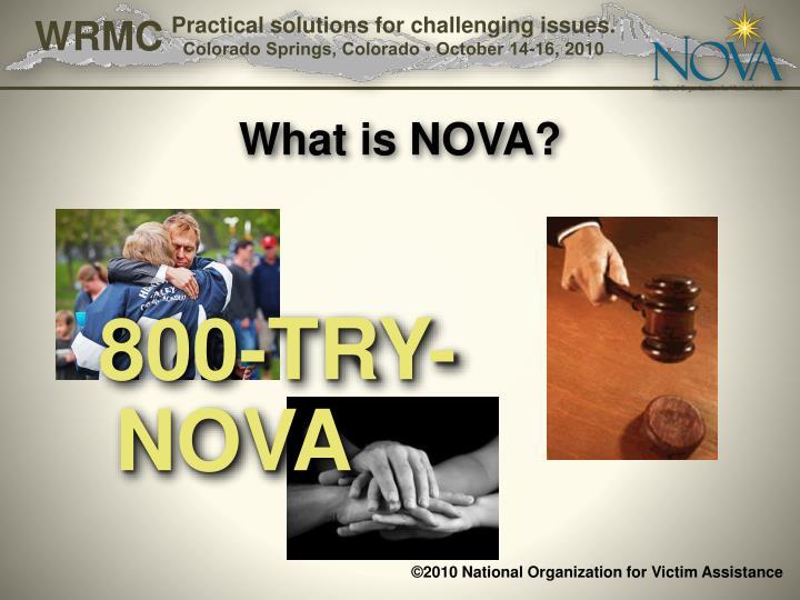 What is nova1