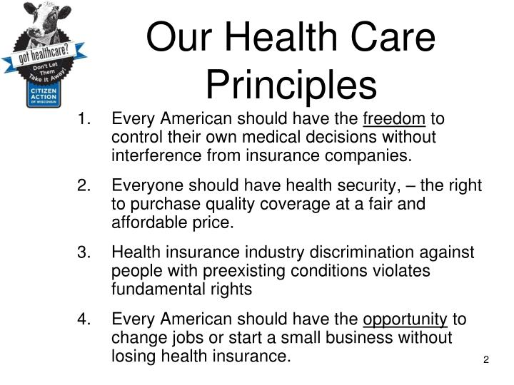 healthcare should be a right for every american 2016 presidential candidates on healthcare from ballotpedia in our generations-long fight to guarantee health care as a fundamental right for every american.