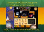 climate and global change on windows to the universe
