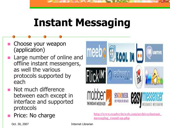 business instant messaging and different functional Secure instant messaging bopup messenger is a secure instant messenger for business designed to communicate fully functional release of the client-side.