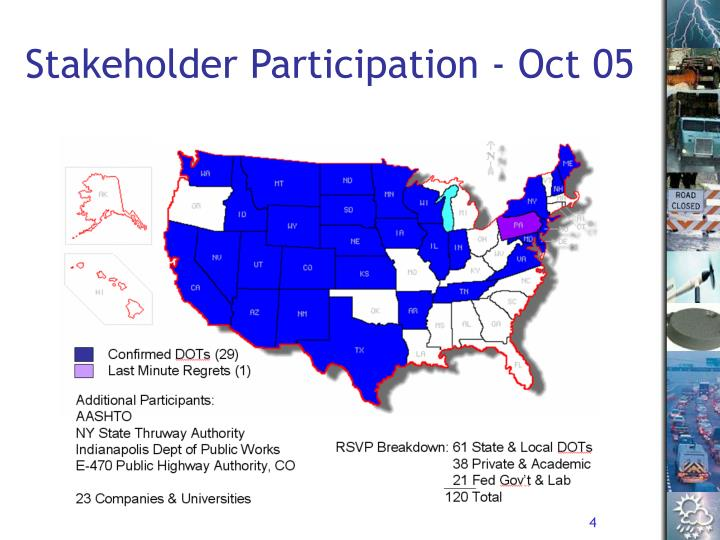 Stakeholder Participation - Oct 05