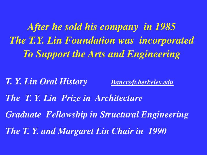 After he sold his company  in 1985