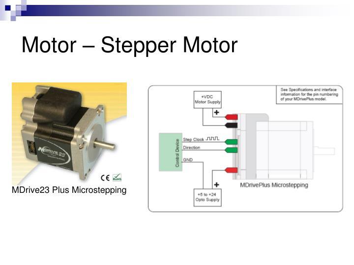 Motor – Stepper Motor