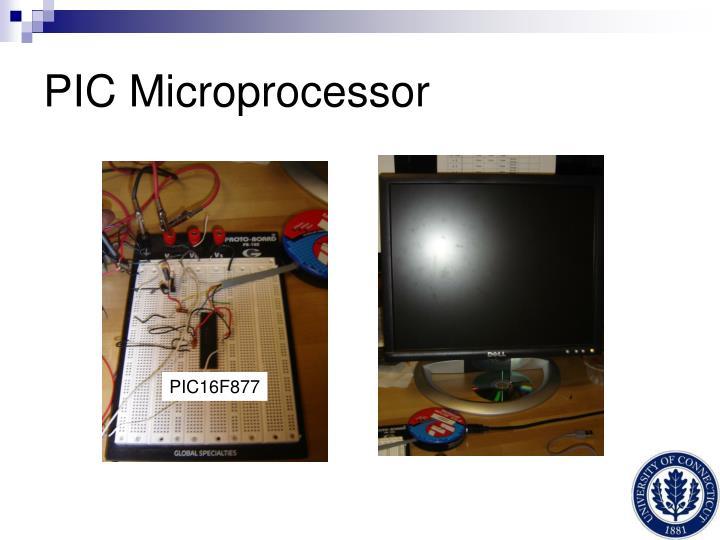 PIC Microprocessor